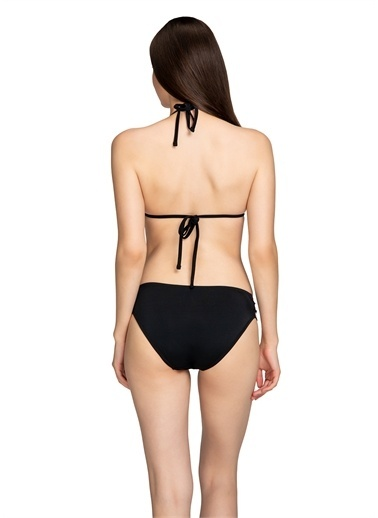 Dagi Üçgen Bikini Takimi Siyah
